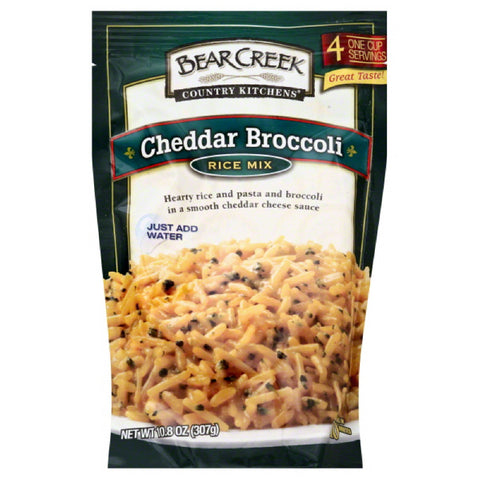 Bear Creek Cheddar Broccoli Rice Mix, 10.8 Oz (Pack of 6)