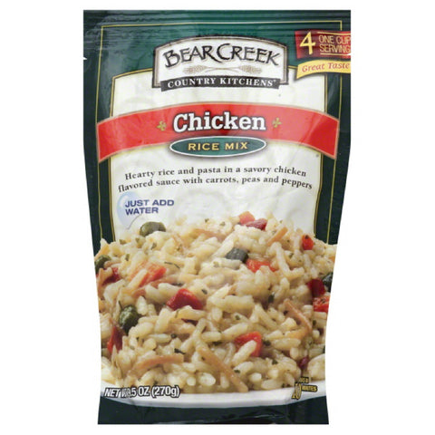 Bear Creek Chicken Rice Mix, 9.5 Oz (Pack of 6)