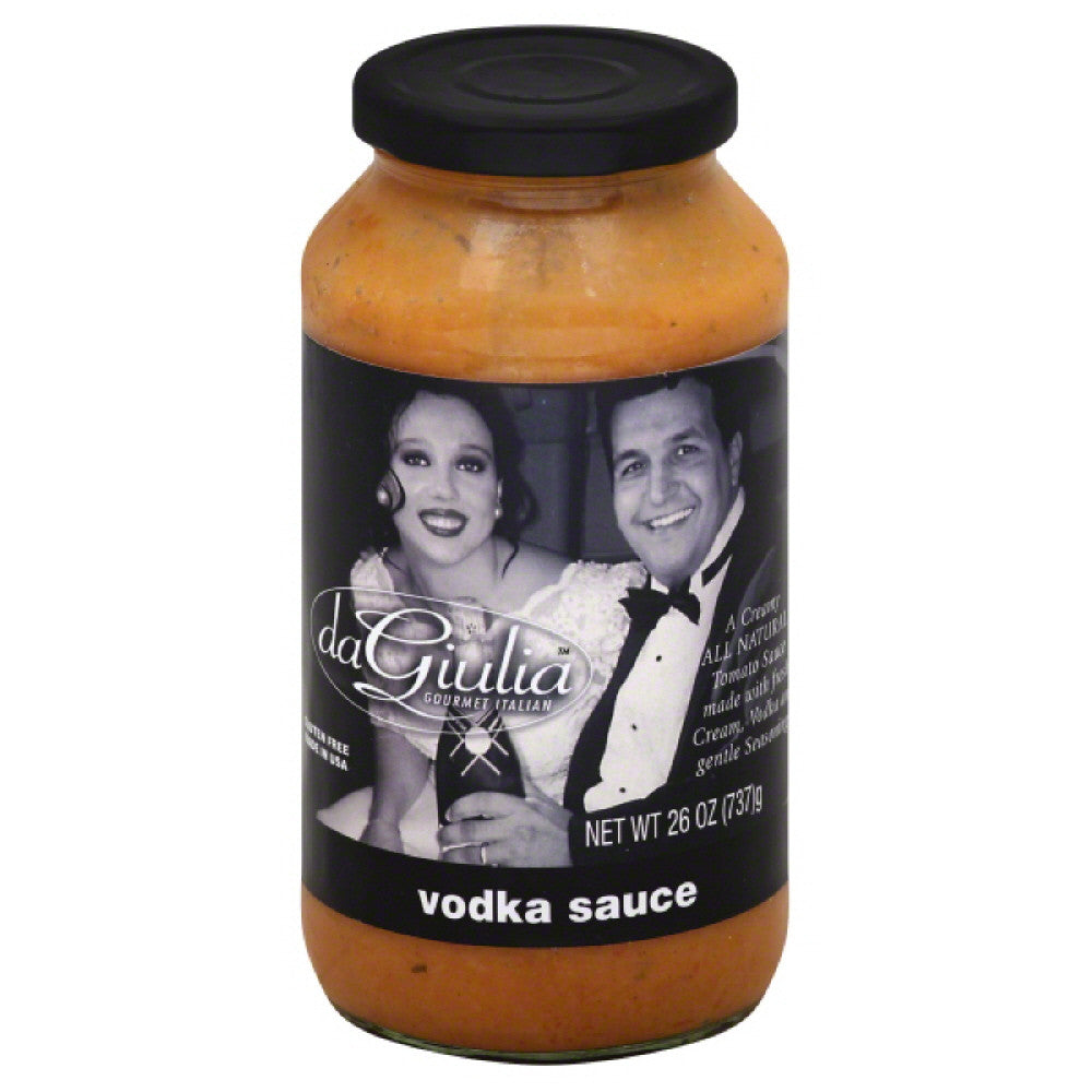 daGiulia Vodka Sauce, 26 Oz (Pack of 12)