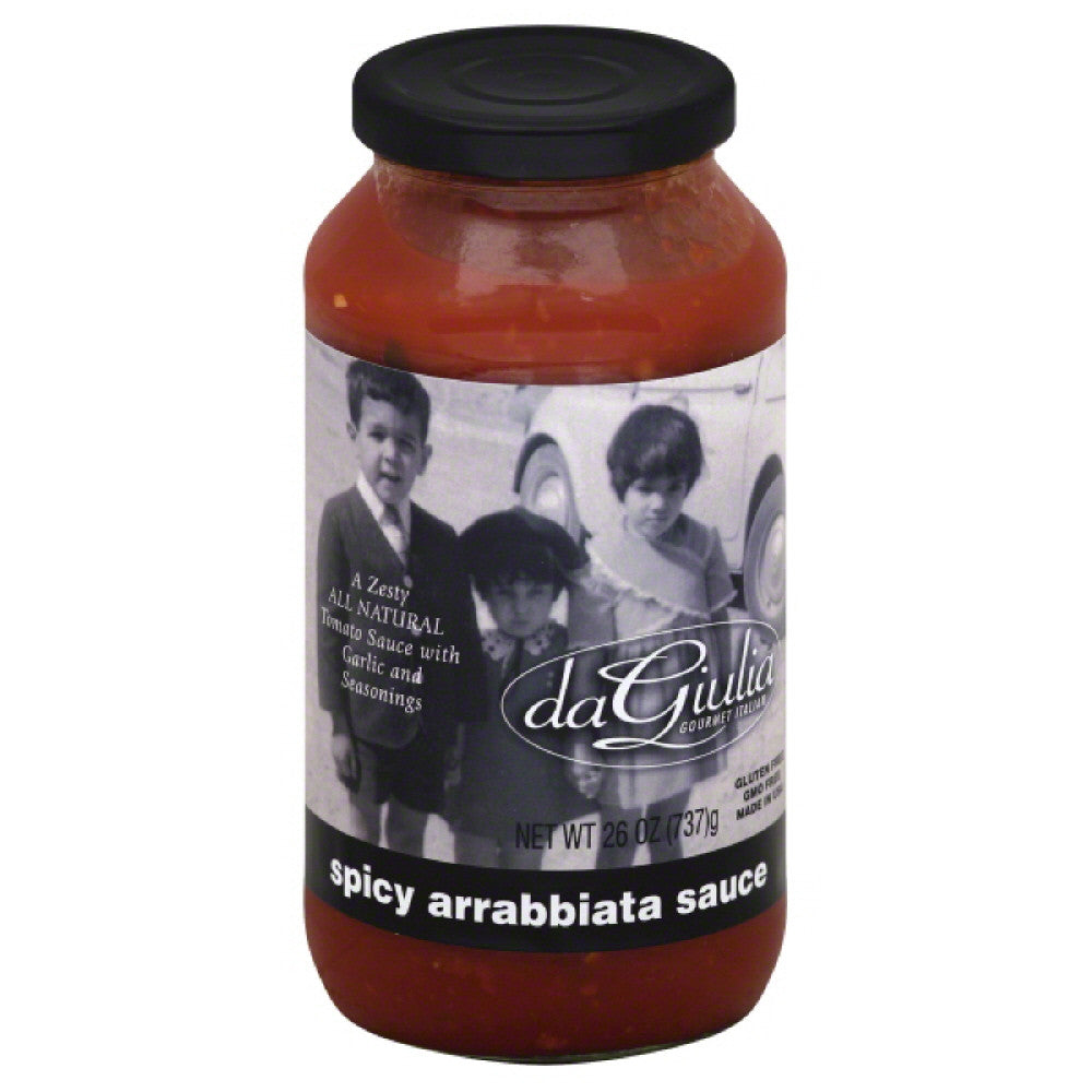 daGiulia Spicy Arrabbiata Sauce, 26 Oz (Pack of 12)