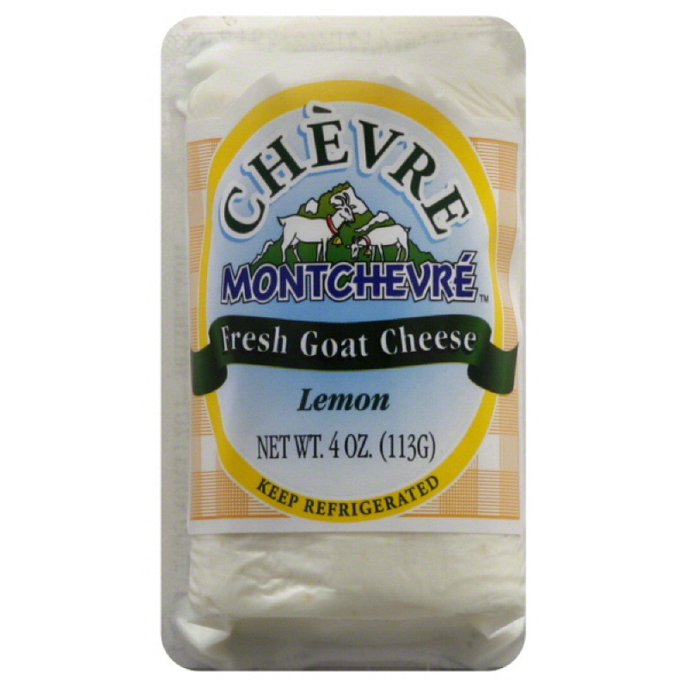 Chevre Lemon Fresh Goat Cheese, 4 Oz (Pack of 12)