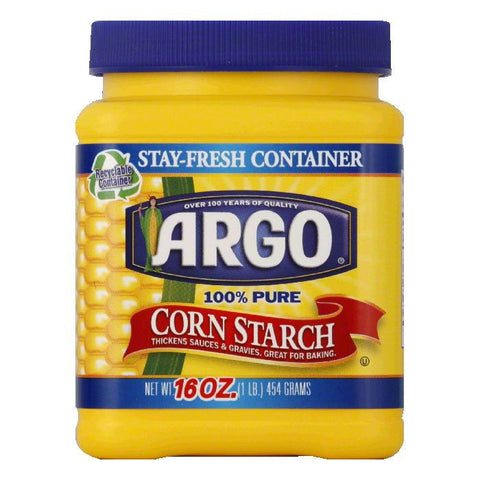 Agro Corn Starch, 16 OZ (Pack of 12)