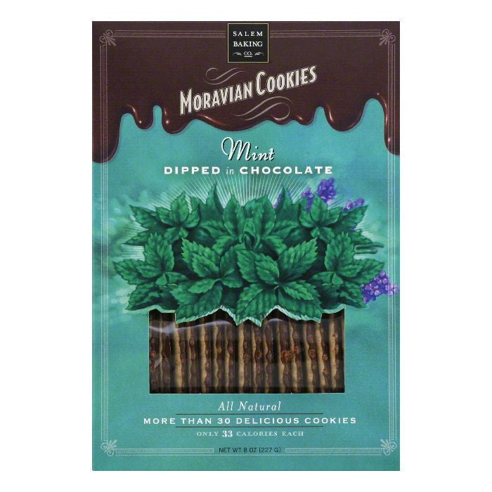 Salem Baking COOKIE MORVN MINT CHOC DP, 8 OZ (Pack of 6)