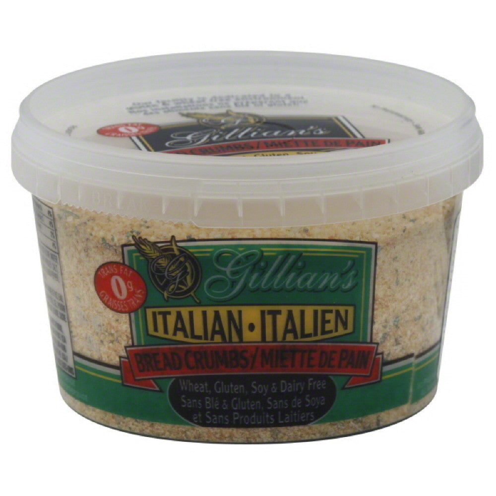 Gillians Italian Bread Crumbs, 12 Oz (Pack of 12)