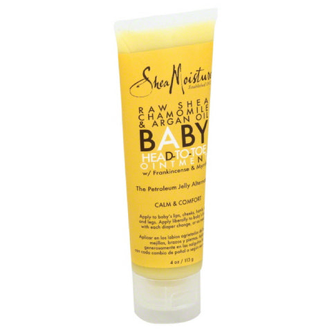 Shea Moisture Raw Shea Chamomile & Argan Oil Head-to-Toe Ointment, 4 Oz