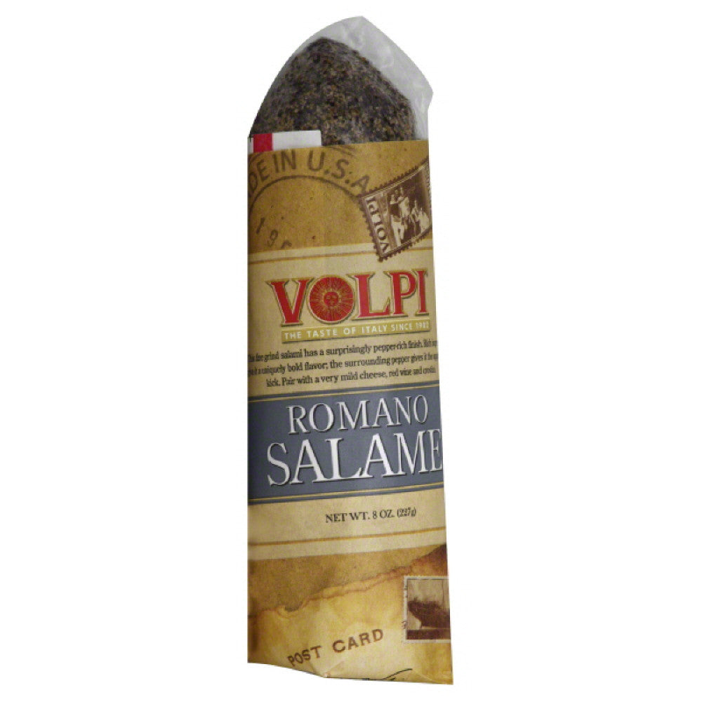 Volpi Romano Salame, 8 Oz (Pack of 12)