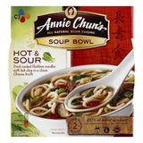 Annie Chuns Medium Hot & Sour Soup Bowl, 5.7 OZ (Pack of 6)