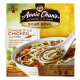 Annie Chuns Mild Chinese Style Chicken Flavored Soup Bowl, 5.7 OZ (Pack of 6)