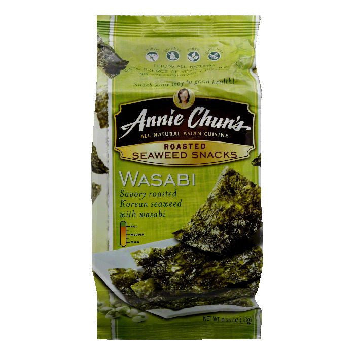 Annie Chuns Seaweed Snack, 0.35 OZ (Pack of 12)