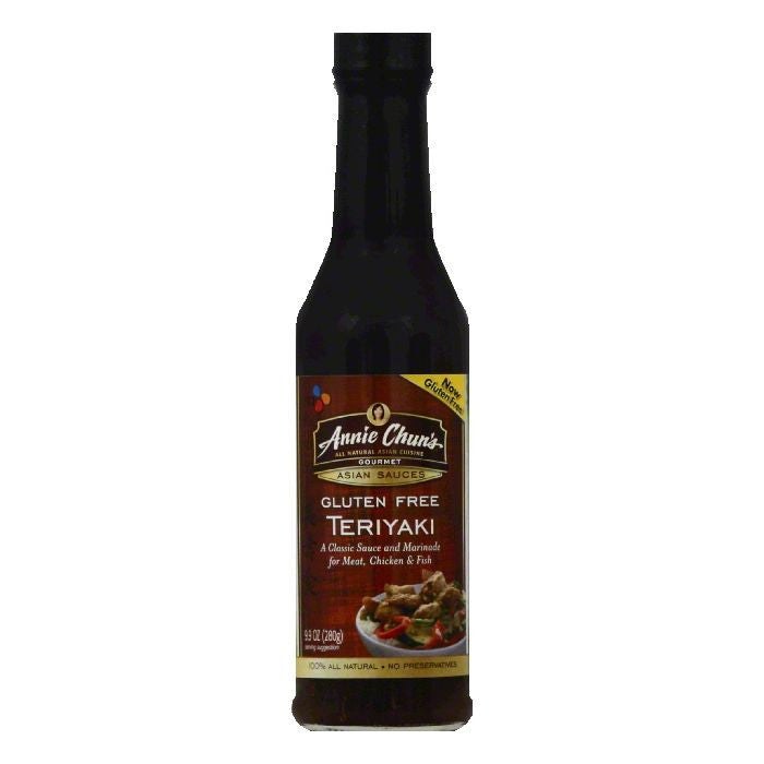Annie Chuns Teriyaki Gourmet Asian Sauces, 9.9 OZ (Pack of 6)