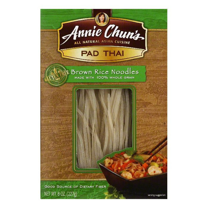 Annie Chuns Pad Thai Brown Rice Noodle, 8 OZ (Pack of 6)