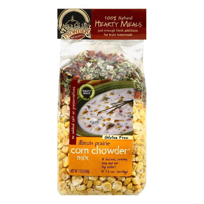 Frontier Soups Illinois Prairie Corn Chowder Mix, 7 OZ (Pack of 8)