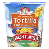 Dr. McDougall's Tortilla Soup with Baked Chips Big Cup, 2 OZ (Pack of 6)