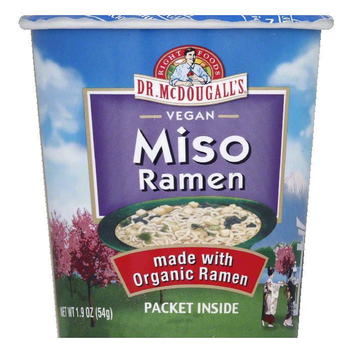 Dr. McDougall's Miso Garlic Ginger Organic, 1.9 OZ (Pack of 6)