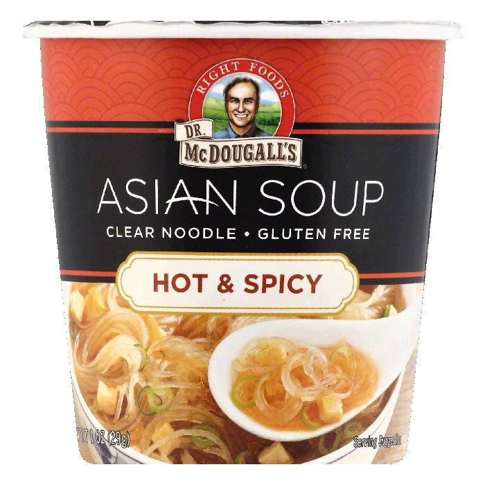 Dr McDougalls Hot & Spicy Asian Soup, 1 OZ (Pack of 6)