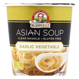 Dr McDougalls Garlic Vegetable Asian Soup, 1.1 OZ (Pack of 6)