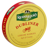 Kerrygold Dubliner Soft & Creamy Cheese Wedges, 6 Oz  ( Pack of  12)