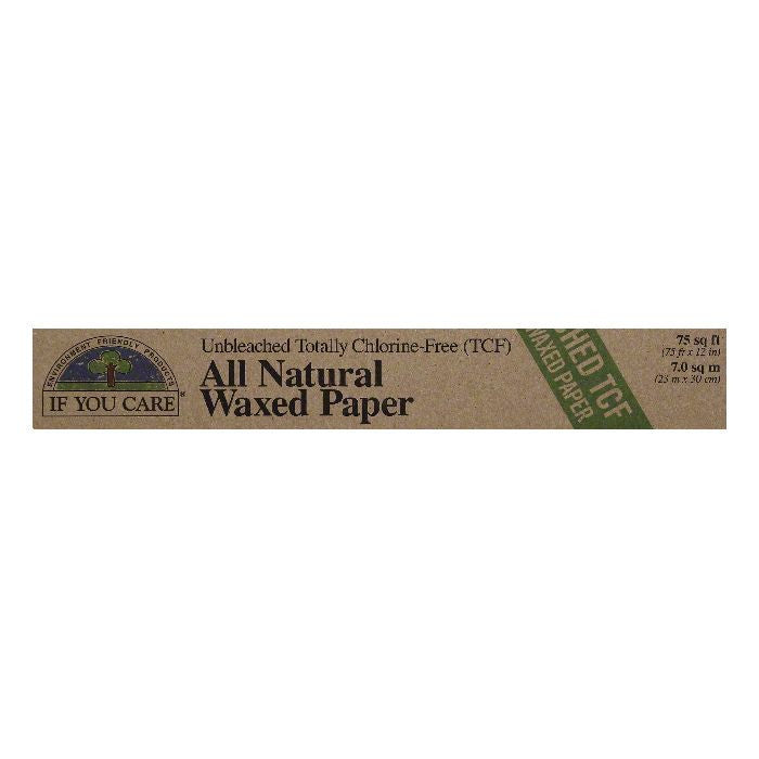 If You Care 75 Sq Ft All Natural Waxed Paper, 1 ea (Pack of 12)