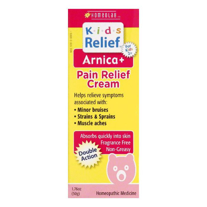 Homeolab Arnica+ Pain Relief Cream, 1.76 Oz (Pack of 6)