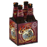 Captn Elis Caffeine Free Black Cherry Pop Soda, 48 Fo (Pack of 6)