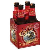 Captn Elis Caffeine Free Strawberry Pop Soda, 48 Fo (Pack of 6)