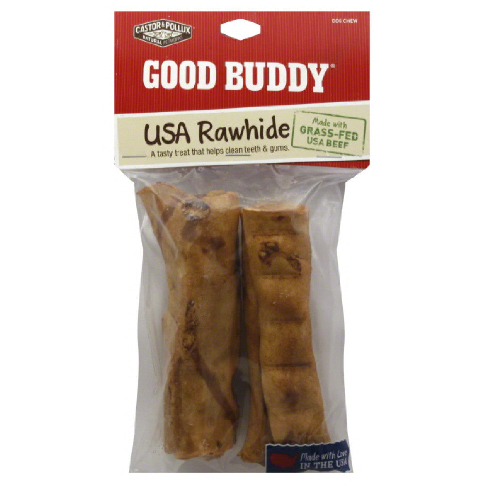 Good Buddy 4 Inch Chicken Flavored Rolls Dog Chews, 2 Pc