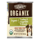 Castor & Pollux Turkey & Vegetable Formula Organic Adult Dog Food, 12.7 OZ