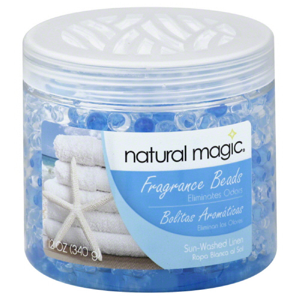 Natural Magic Sun-Washed Linen Fragrance Beads, 12 Oz (Pack of 6)