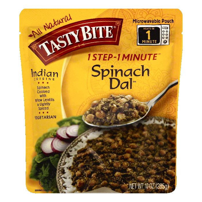Tasty Bite Spinach Dal, 10 OZ (Pack of 6)