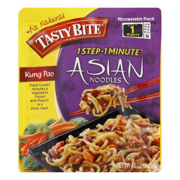 Tasty Bite Kung Pao Asian Noodles, 8.8 Oz (Pack of 6)