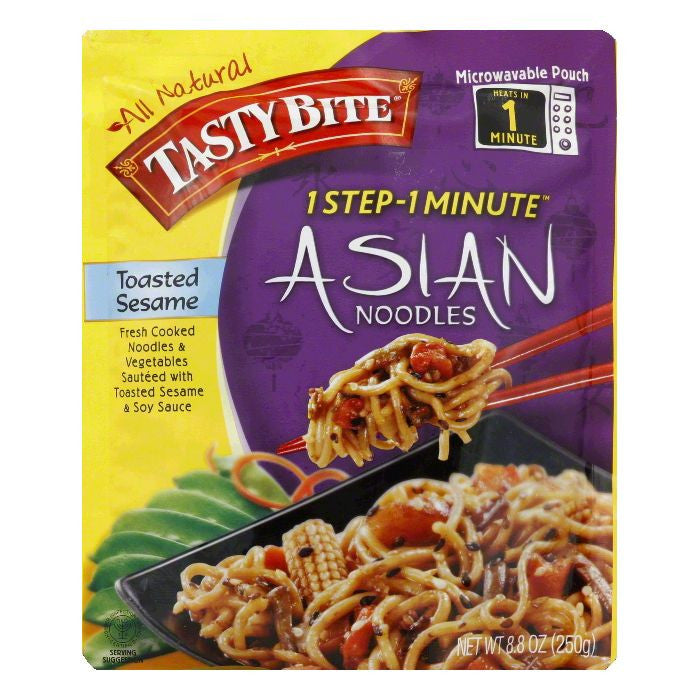 Tasty Bite Toasted Sesame Asian Noodles, 8.8 Oz (Pack of 6)