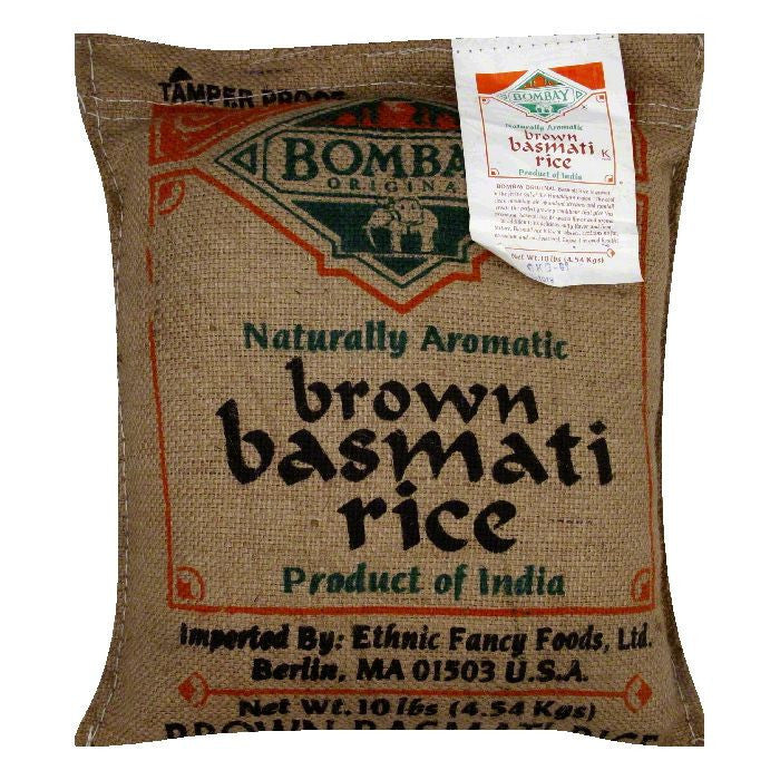 Bombay Basmati Brown Rice, 10 LB