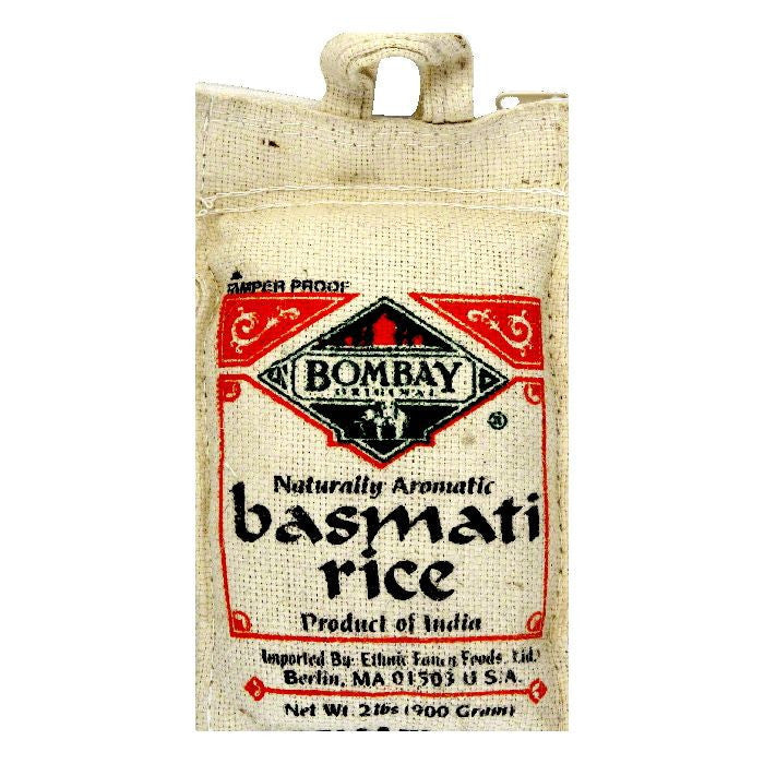 Bombay Basmati Rice White, 2 LB (Pack of 12)