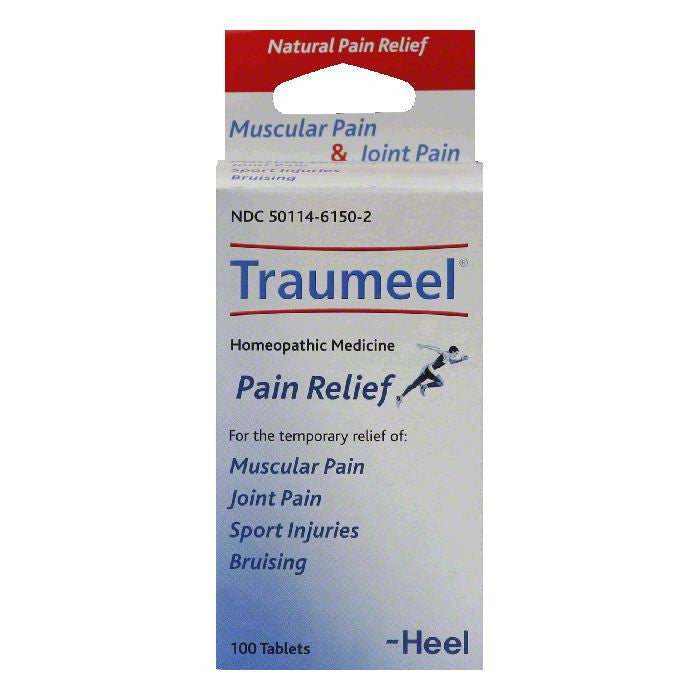 Traumeel Tablets Pain Relief, 100 TB