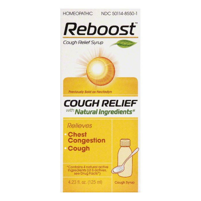 Reboost Cough Relief Syrup, 4.23 OZ