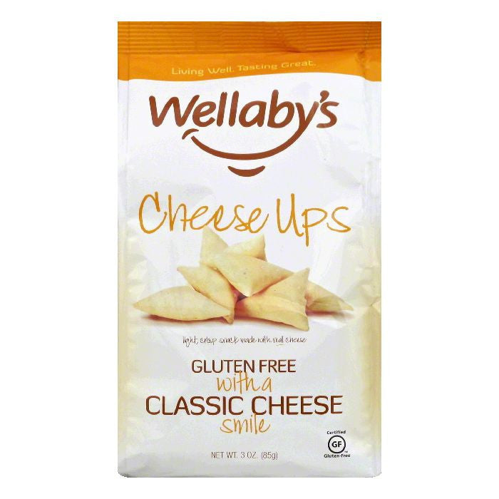 Wellabys Classic Cheese Ups, 3 OZ (Pack of 6)