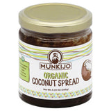 Munkijo Organic Coconut Spread, 9.3 Oz (Pack of 12)