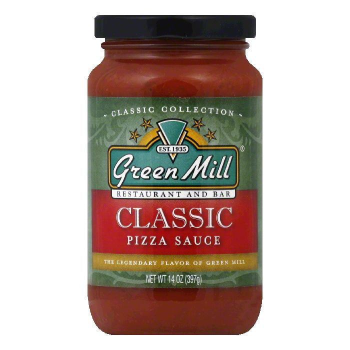 Green Mill Classic Pizza Sauce, 14 OZ (Pack of 12)