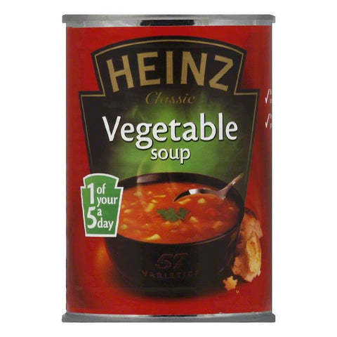 Heinz Soup Vegetable, 14.1 OZ (Pack of 12)