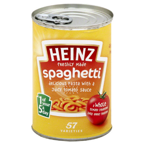 Heinz Spaghetti in Tomato Sauce, 13.3 Oz (Pack of 12)