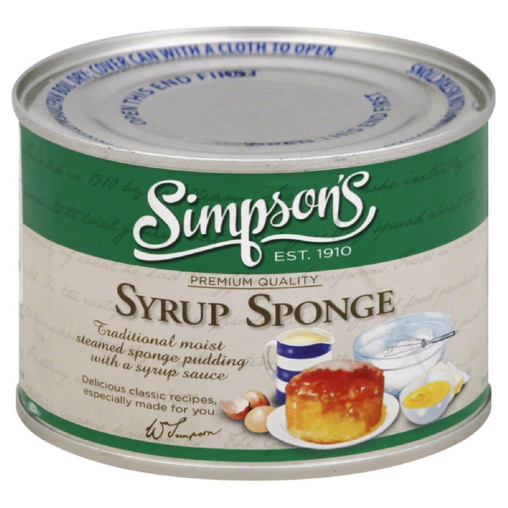 Simpsons Syrup Sponge, 10.5 Oz (Pack of 8)