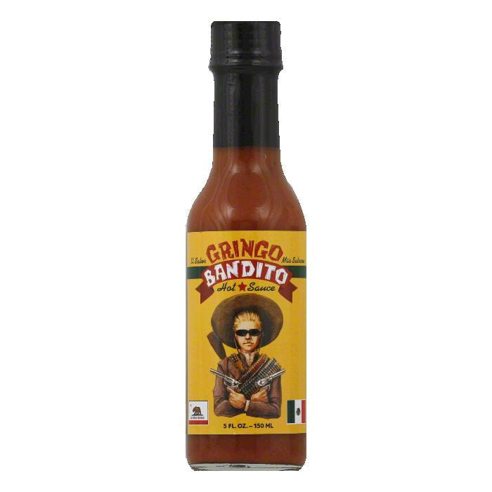 Gringo Bandito Hot Sauce, 5 FO (Pack of 12)
