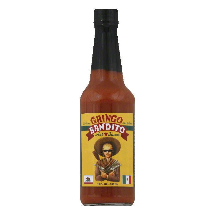Gringo Bandito Hot Sauce, 10 FO (Pack of 12)