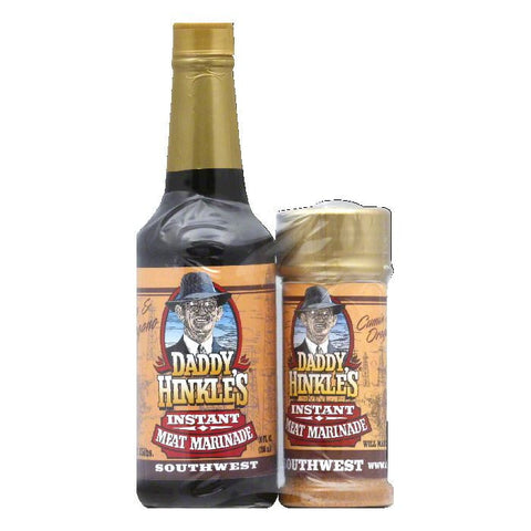 Daddy Hinkles Southwest Instant Meat Marinade, 15 Oz (Pack of 6)