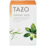 Tazo Refresh Mint Herbal Tea 20 ct.  (Pack of 6)