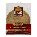 Rustic Crust Pizza Originale Organic Pizza Crust Flatbreads, 13 OZ (Pack of 8)