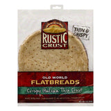Rustic Crust Crispy Italian Thin Crust Flatbreads, 10 OZ (Pack of 8)