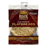 Rustic Crust Italian Herb Pizza Crust Old World Flatbreads, 2 ea (Pack of 12)
