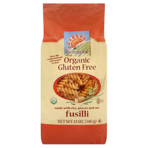 Bionaturae Fusilli, 12 Oz (Pack of 12)