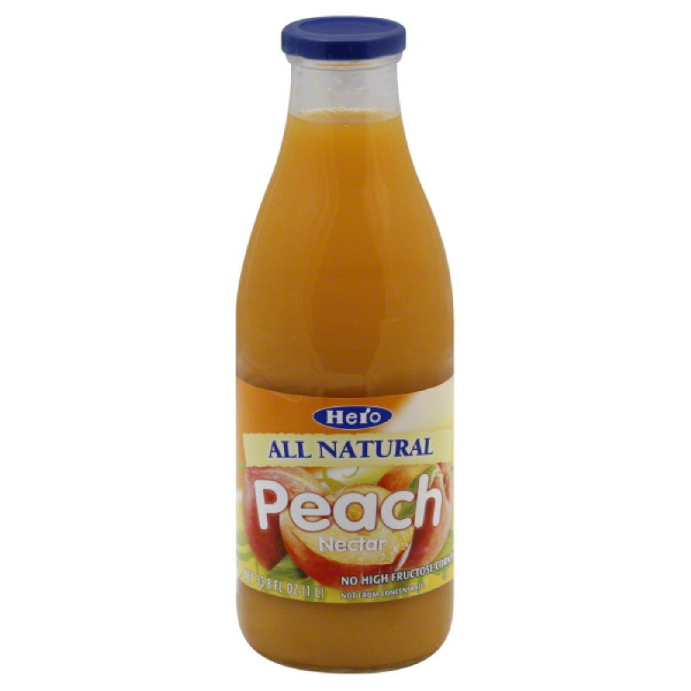 Hero Peach Nectar, 33.75 Fo (Pack of 6)